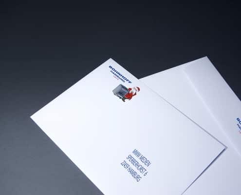 Briefumschläge im Digitaldruck